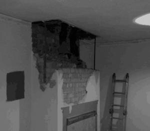 chimney-removal